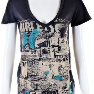 Women's Graphic Hurley Shirt Size S